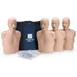 The Prestan™ Adult CPR Mannequin w/ Monitor - 4 Pack - Medium Skin