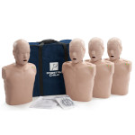 The Prestan™ Child CPR Mannequin w/ Monitor - 4 Pack - Medium Skin