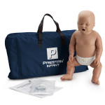The Prestan™ Infant CPR Mannequin w/ Monitor - Dark Skin