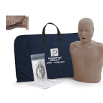 The Prestan Adult Jaw Thrust CPR Mannequin w/o Monitor - Dark Skin
