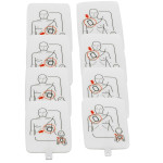 The Prestan Professional AED UltraTrainer Pads, 4 Pack