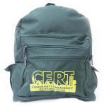The MayDay Industries Emergency Gear Backpack w/ C.E.R.T. Logo
