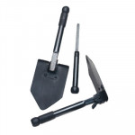 The MayDay Industries Emergency Gear Folding Survival Shovel with Saw