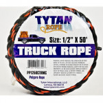 "The MayDay Industries Emergency Gear Black & Orange Rope 1/2"" x 50'"