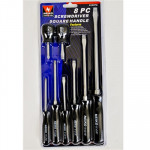 The MayDay Industries Emergency Gear 6 Piece Screwdriver Set