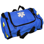 The Urgent First Aid™ Empty First Responder Bag w/ Rigid Foam Insert - Blue