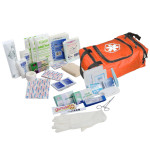 The Urgent First Aid™ First Responder Kit / Jump Bag - 80 Pieces - Orange