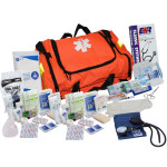 The Urgent First Aid™ First Responder Kit - 151 Pieces - Orange