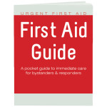 The Urgent First Aid™ Urgent First Aid Guide with CPR & AED  - 52 Pages