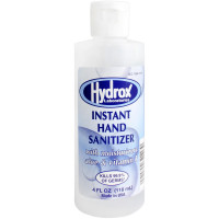 The 4 oz. Hand Sanitizer, 70% Ethyl Alcohol, Clear Bottle - Made in USA