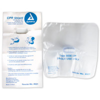 The Dynarex CPR Face Shield, One-Way Valve