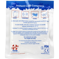 "The Urgent First Aid™ Instant Cold Compress, 4""x5"" - 1 Each"