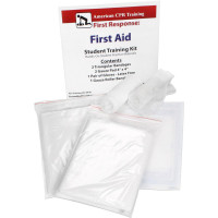 The First Aid Student Training Kit, 7 Pieces