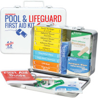 The Urgent First Aid™ Swimming Pool & Lifeguard First Aid Kit - Metal