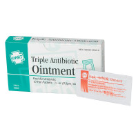 The Triple Antibiotic Ointment, 10 per box, .5gm