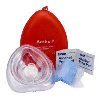 The Ambu® Res-Cue Key™ CPR Mask Kit, Plastic Case