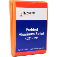 "The Padded Aluminum Foam Splint, 4.25"" x 24"", Reusable, 1 Each"