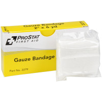 "The 2"" x 6 yd Sterile Gauze Bandages - 2 per box"