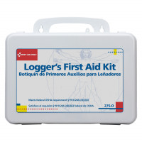 The First Aid Only® 16 Unit Logger First Aid Kit - Plastic