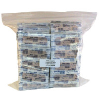 "The Prostat First Aid Adhesive Bandage, Plastic 1"" x 3"" - 1000 Per Bag"