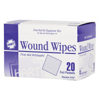 The First Aid Antiseptic Wipes, 20 Per Box