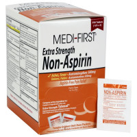 The Medi-First Non-Aspirin Extra Strength, 250/box