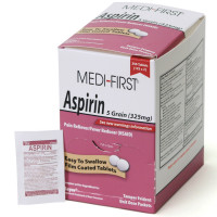 The Medi-First Aspirin, 250/box