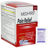 The Medi-First Pain Relief, 250/box