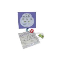 The Zoll® Brand Pedi•padz II Pediatric Multi-Function Electrodes, 1 pair