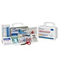 The First Aid Only 10 Person Bulk ANSI A, Plastic