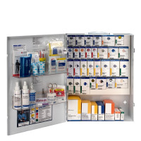 The XL Metal Smart Compliance General Business First Aid Cabinet without Meds