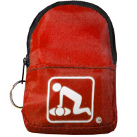The American CPR Training™ CPR Red BeltLoop/KeyChain BackPack
