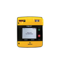 The Physio LIFEPAK 1000 defibrillator – Graphical Display, case, battery, electrodes