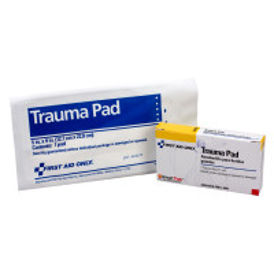 "The First Aid Only® Trauma Pad, 5""x9"" - 1 per box"