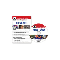 The American CPR Training™ / AEHS First Response: The First Aid Video, English (DVD)