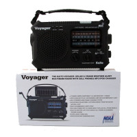 The MayDay Industries Emergency Gear The Kaito Voyager - Solar & Crank Weather Alert Radio