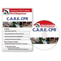 The American CPR Training™ First Response: C.A.R.E. CPR™ + Bonus Chapters! (DVD)