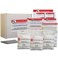 The American CPR Training™ CPR/ First Aid Combination Class 10 Pack