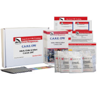 The American CPR Training™ Adult, Child & Infant C.A.R.E. CPR™ Class Student 10 Pack