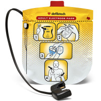 The Defibtech Adult Electrodes for Defibtech Lifeline View AED
