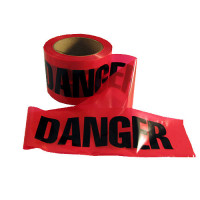 "The MayDay Industries Emergency Gear ""Danger"" Caution Tape - 3"" x 300' - Red"