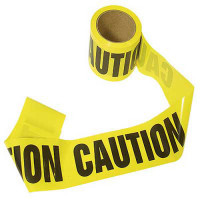 "The MayDay Industries Emergency Gear Barricade ""Caution"" Tape - 300"