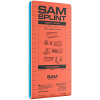 "The SAM Medical 18"" Junior Sam Splint Flatfold, Reusable, 1 Each"