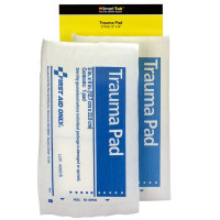 "The 5"" X 9"" Trauma Pad, 2 Per Bag - SmartTab EzRefill"