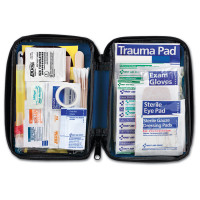 The First Aid Only® 104 Piece Large, Auto Soft Sided First Aid Kit