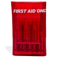 The First Aid Only® Red Mini First Aid Kit - 18 Pieces