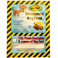 The MayDay Brand Emergency Dog Food