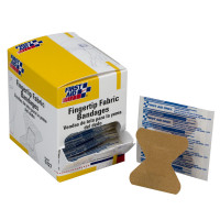 The First Aid Only® Fingertip Bandage, Fabric - 100 Per Box