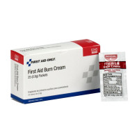 The First Aid Only® First Aid/Burn Cream, .9 gm. - 25 Per Box