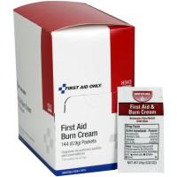 The First Aid Only® First Aid/Burn Cream, .9 gm. - 144 Per Box